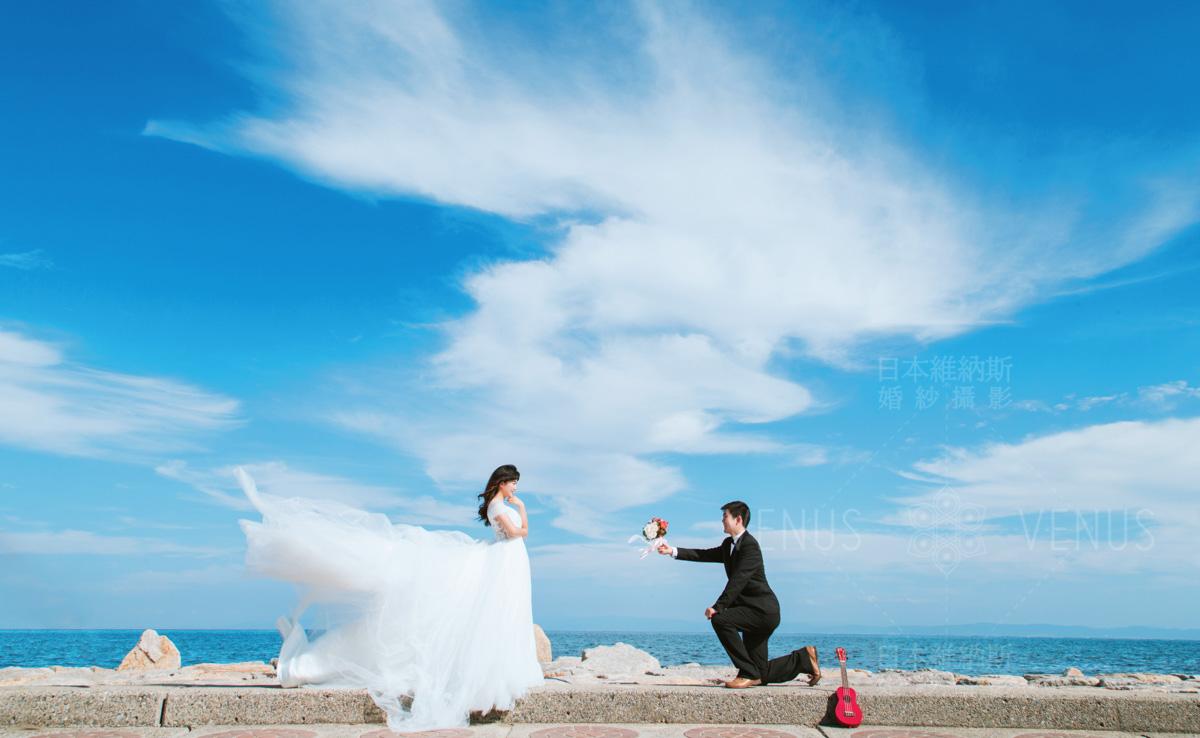 日本婚纱摄影的多少钱