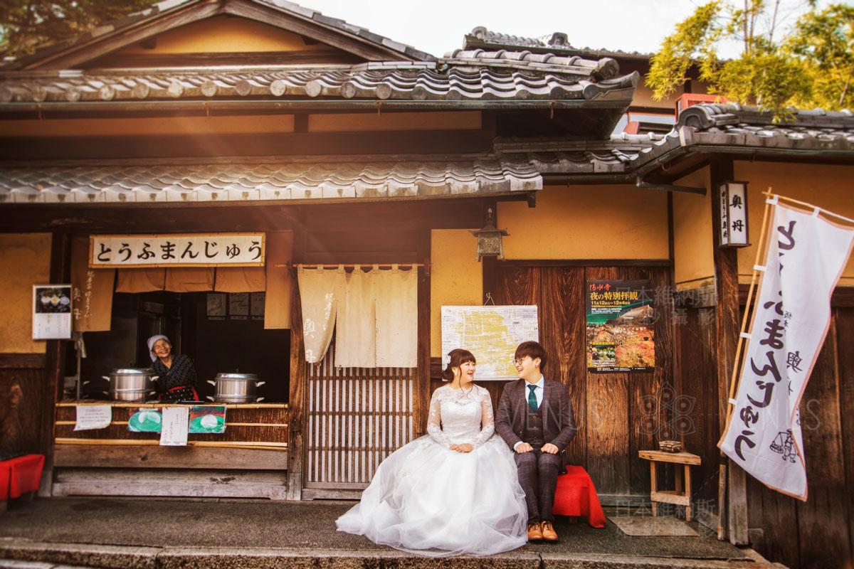 日本婚纱摄影得多少钱